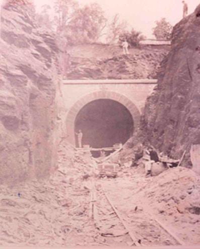 Túnel Los Venados 1897 boca norte